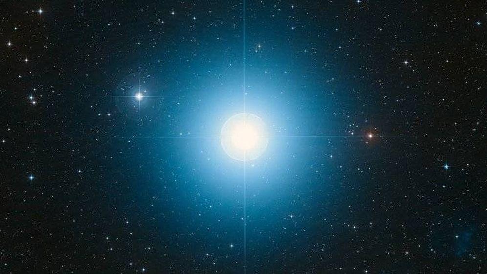 Foto: Fomalhaut , estrella sobre la que orbitaba Dagon. Foto: NASA