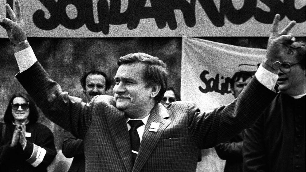 Foto: Una foto de archivo de Lech Wałęsa. (Reuters)
