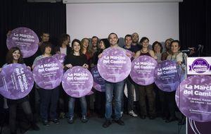 Interior confía en el servicio de orden de Podemos y reduce policías