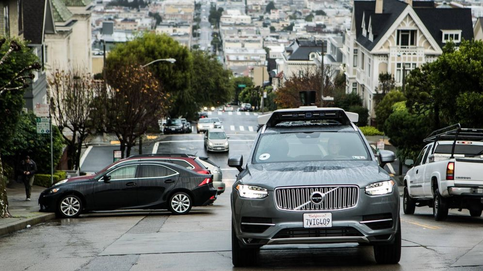 Foto: Los Volvo XC90 Uber ya circulan por las calles de San Francisco