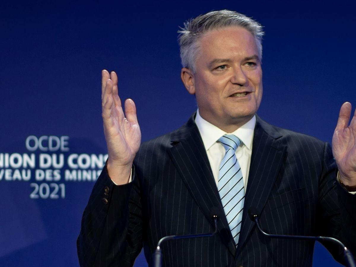 Foto: El secretario general de la OCDE, Mathias Cormann. (Reuters)