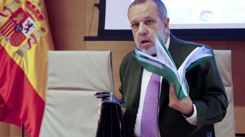 El defensor del pueblo, Francisco Fernández Marugán. (EFE)