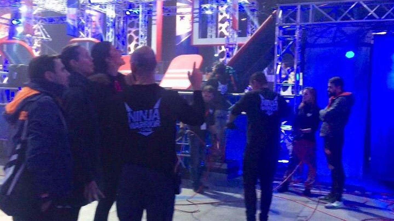 Amaya Valdemoro y Ruth Beitia participan en 'Ninja Warrior 2'.