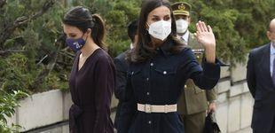 Post de El momento 'twin' de la reina Letizia e Irene Montero en su acto en defensa de la mujer