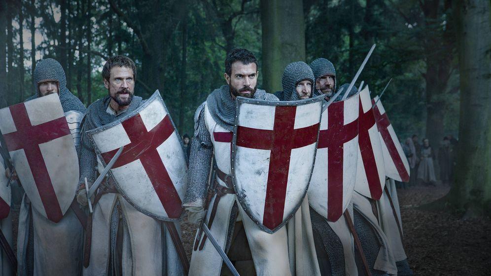Foto: Imagen de la serie sobre los Caballeros Templarios, 'Knightfall'. (HBO)