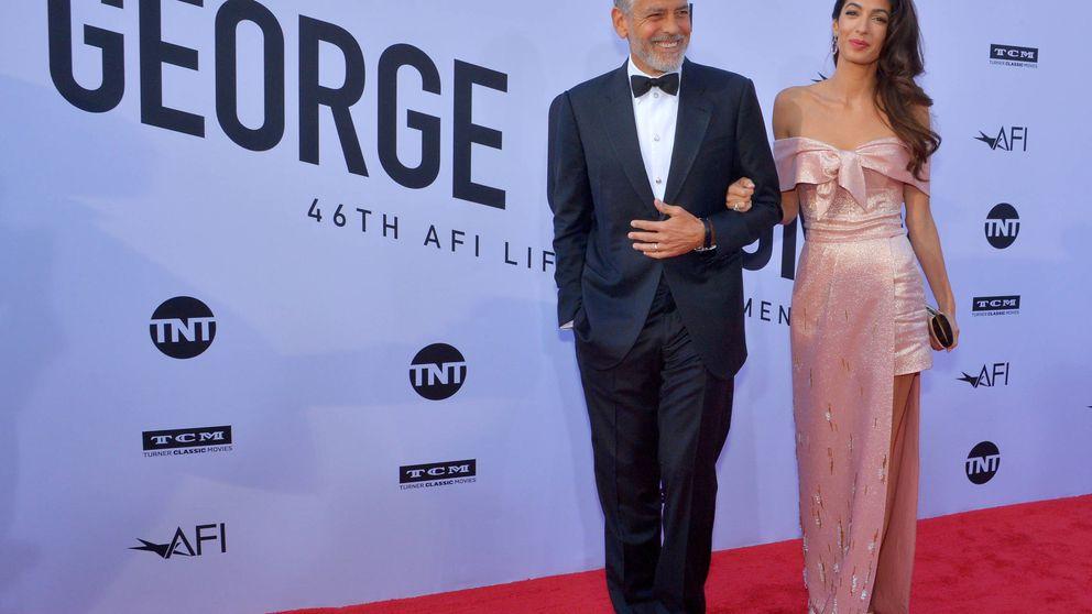 De Jennifer Aniston a Bill Murray: la flor y la nata de Hollywood se rinde ante George Clooney