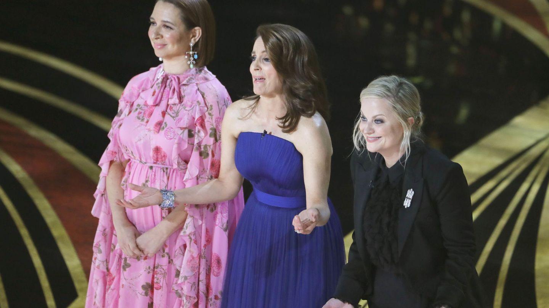 Tina Fey, Maya Rudolph y Amy Poehler. (Reuters)