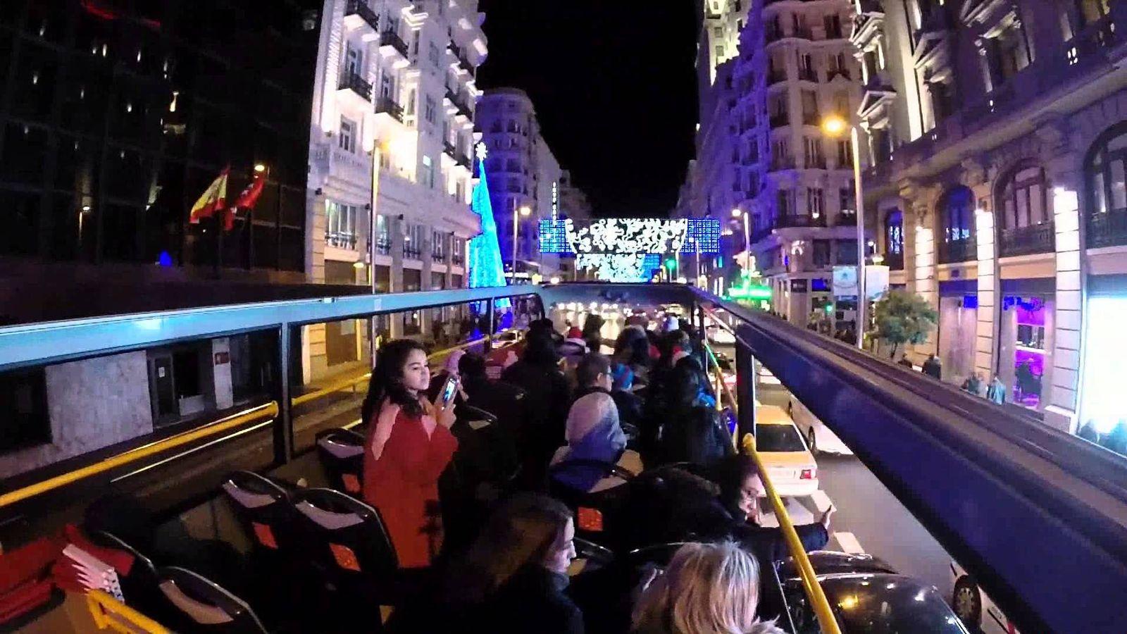 Foto: El Navibus atraviesa las principales arterias de la capital