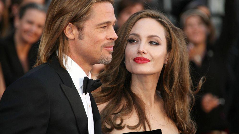 Foto: Brad Pitt y Angelina Jolie durante la ceremonia de los Oscar de 2012. (Gtres)