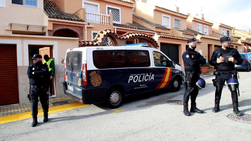 Foto: Operación contra en narcotráfico en Cádiz (Efe)