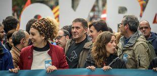 Post de PNV y Bildu defienden en una manifestación en Bilbao el referéndum catalán