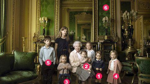 Las 7 claves (con guiño español incluido) de la foto de Isabel II con sus nietos y bisnietos