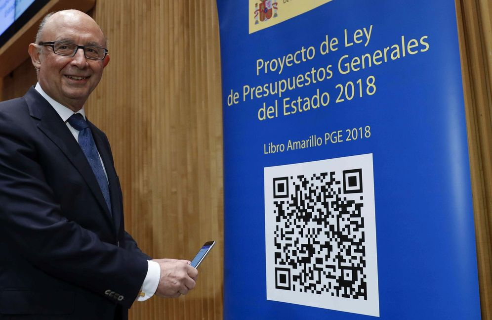 Foto: El ministro de Hacienda, Cristóbal Montoro