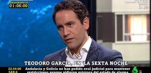 Post de Teodoro García Egea descoloca a Iñaki López con este regalo en 'La Sexta noche'