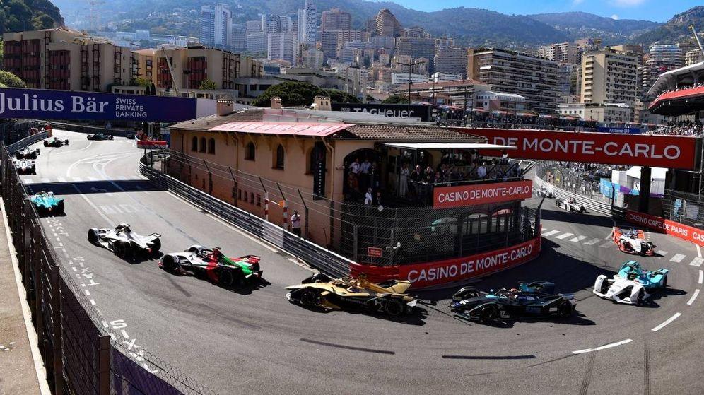 Foto: La Fórmula E, a su paso por el circuito urbano de Montecarlo