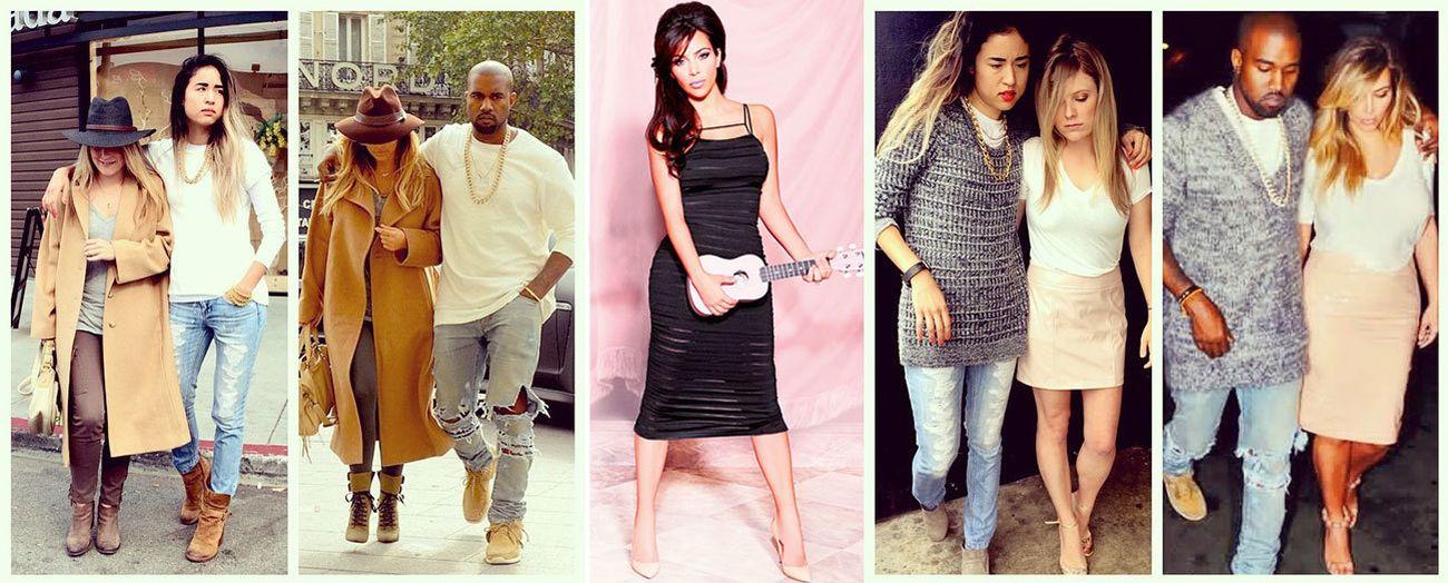 Foto: Imitar a Kim Kardashian: nace el fenómeno 'Copy Kimye'