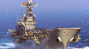 El portaaviones Príncipe de Asturias subastado a trozos por una buena causa
