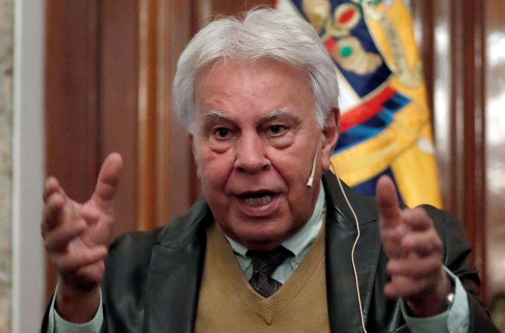 Foto: El expresidente del Gobierno Felipe González, el pasado 24 de enero en Madrid. (EFE)