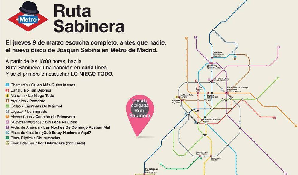 Foto: Cartel de la Ruta Sabinera