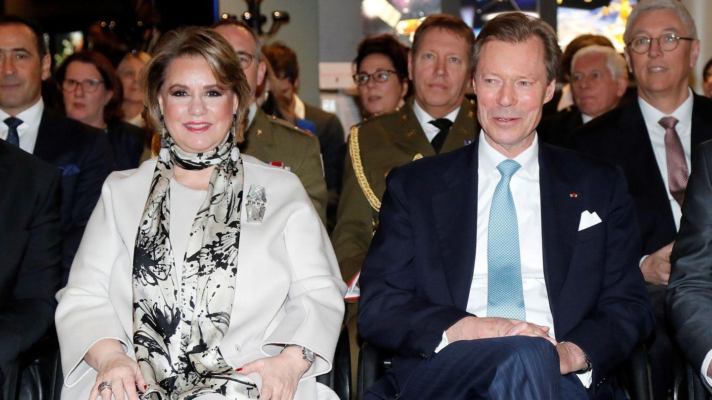Los grandes duques de Luxemburgo, Enrique y María Teresa, en una imagen de archivo. (EFE)