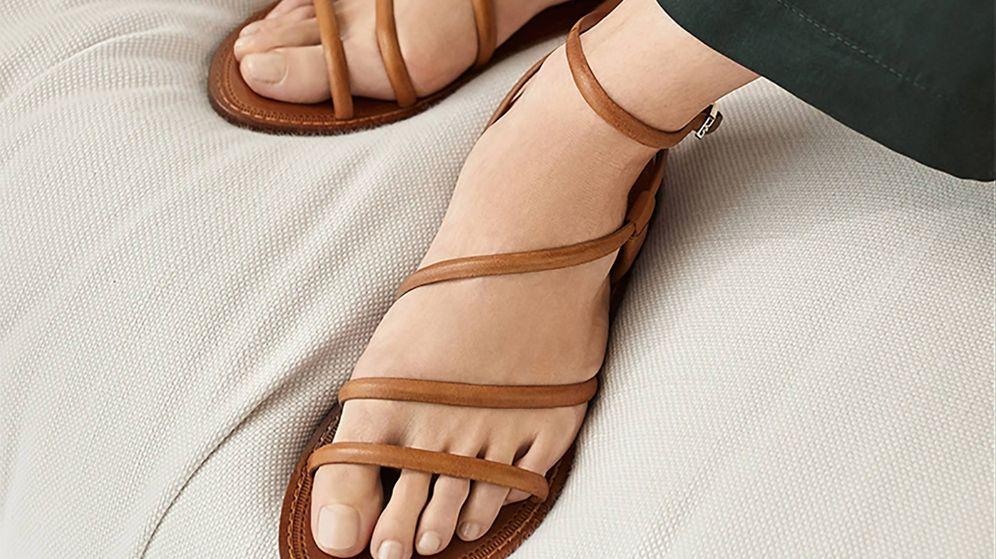 Foto: Nuevas sandalias de Massimo Dutti. (Cortesía)