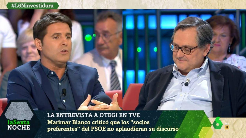 'La Sexta noche' | Tensión entre Cintora y Marhuenda por Otegi: Te crece la nariz
