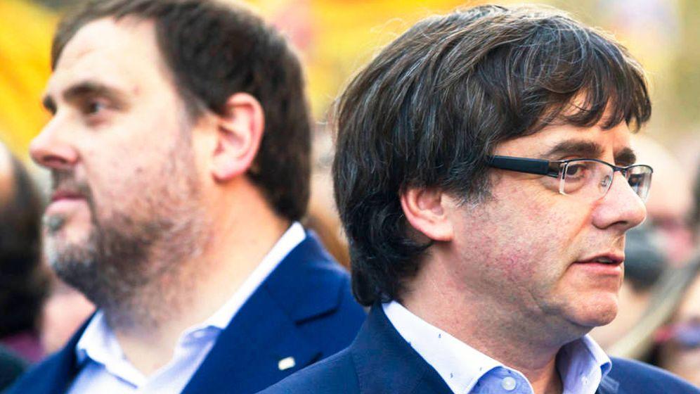 Foto: Puigdemont y Junqueras. (EFE)