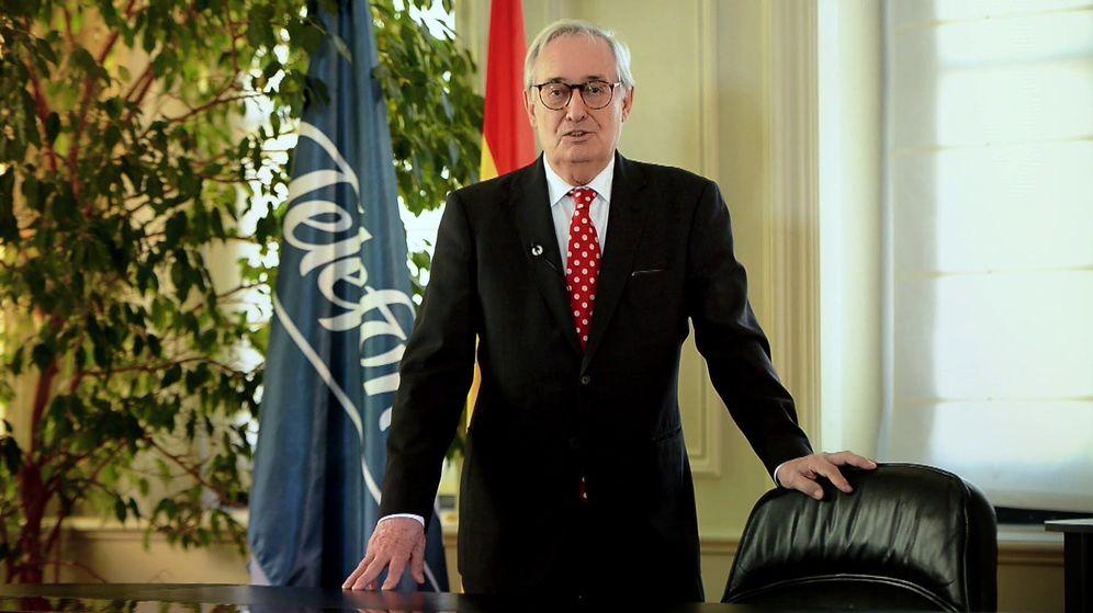 Foto: Luis Solana, presidente no ejecutivo de Ezentis