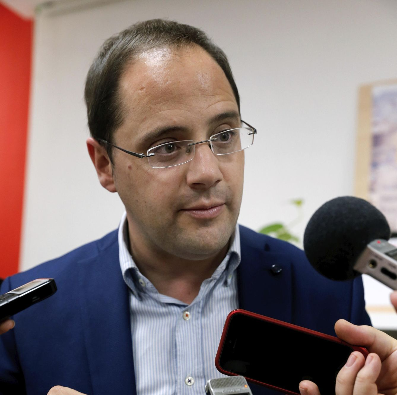César Luena. (EFE)