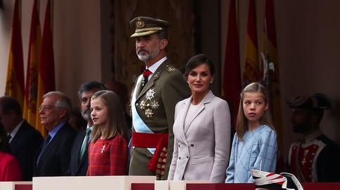 La princesa Leonor ejerce de heredera de la Corona, situándose a la derecha del Rey