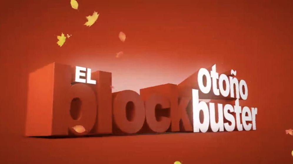 Foto: Logotipo de 'El Blockbuster', el contenedor cinematográfico de Cuatro.