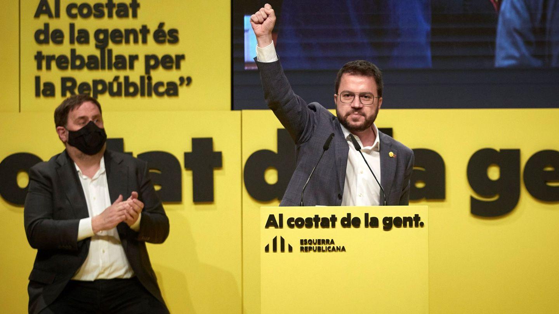 Un acto electoral de ERC. (EFE)