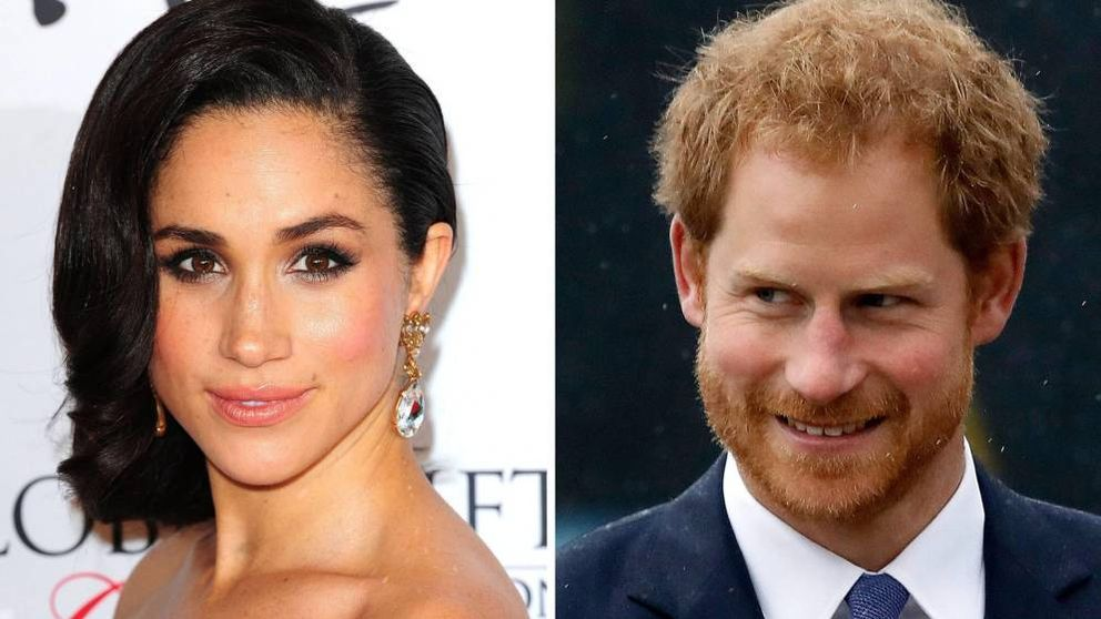 Megan Markle y el príncipe Harry, juntos pero no revueltos