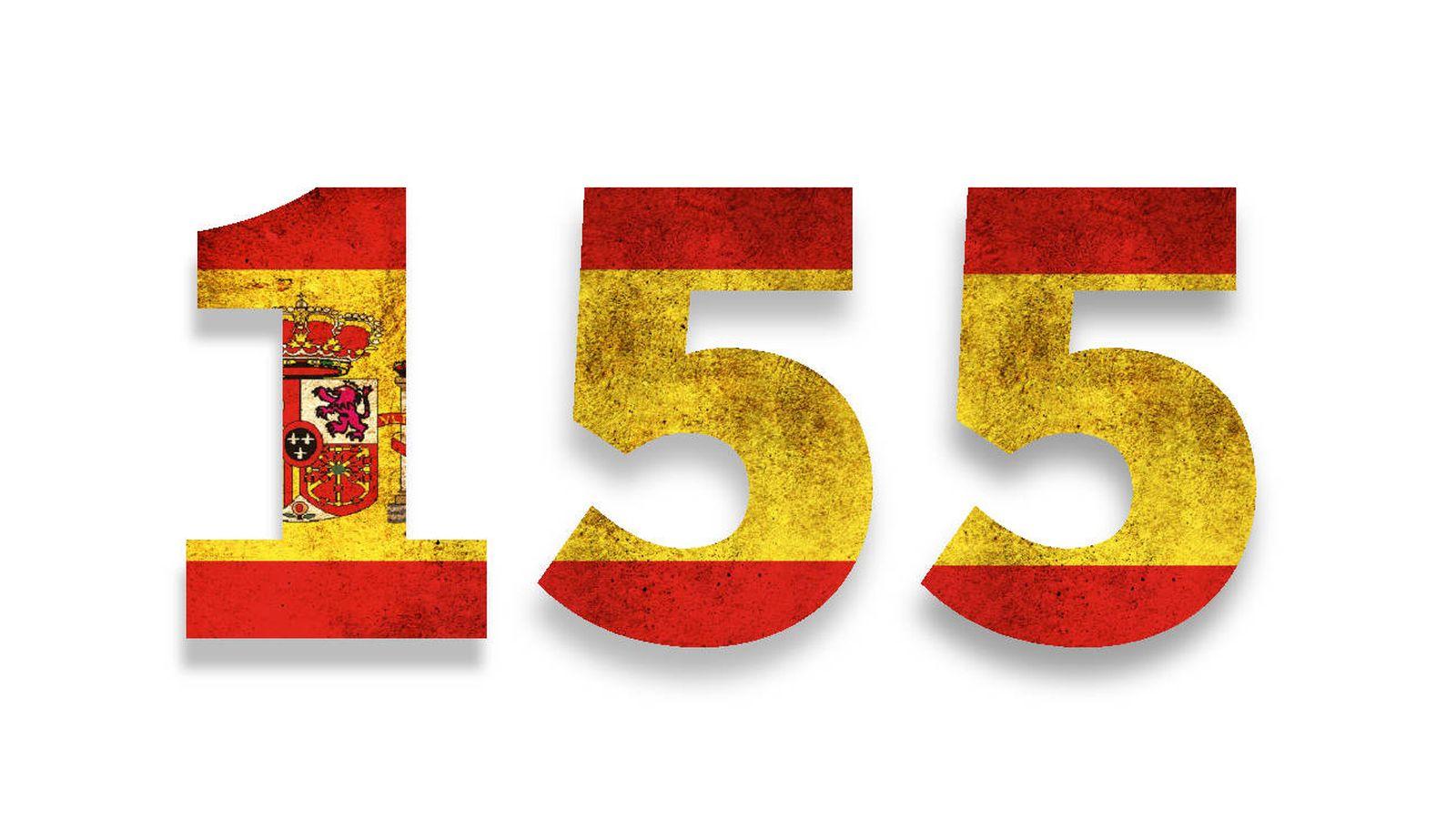Independencia de Cataluña: El artículo 155 de la Constitución: de un Govern  en manos del Gobierno a comicios. Noticias de España
