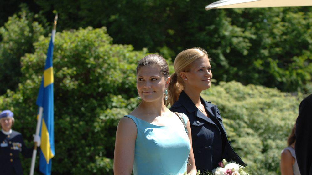 Foto: Victoria y Magdalena en una foto de archivo. (Getty)