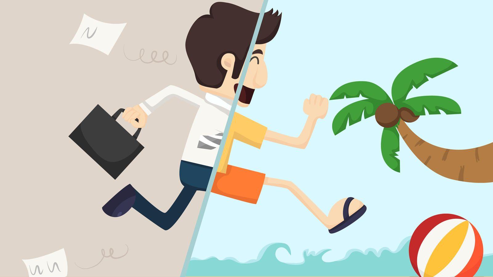 Foto: Sólo queda un 'sprint' final antes de vacaciones. (iStock)