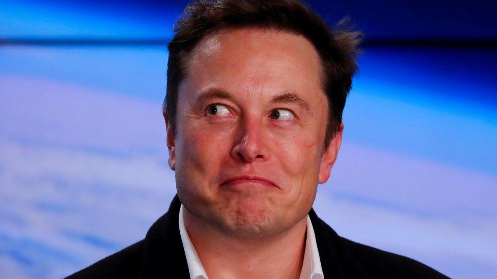 Foto: ¿Estará Musk pensando en comer ahora mismo? (Reuters)