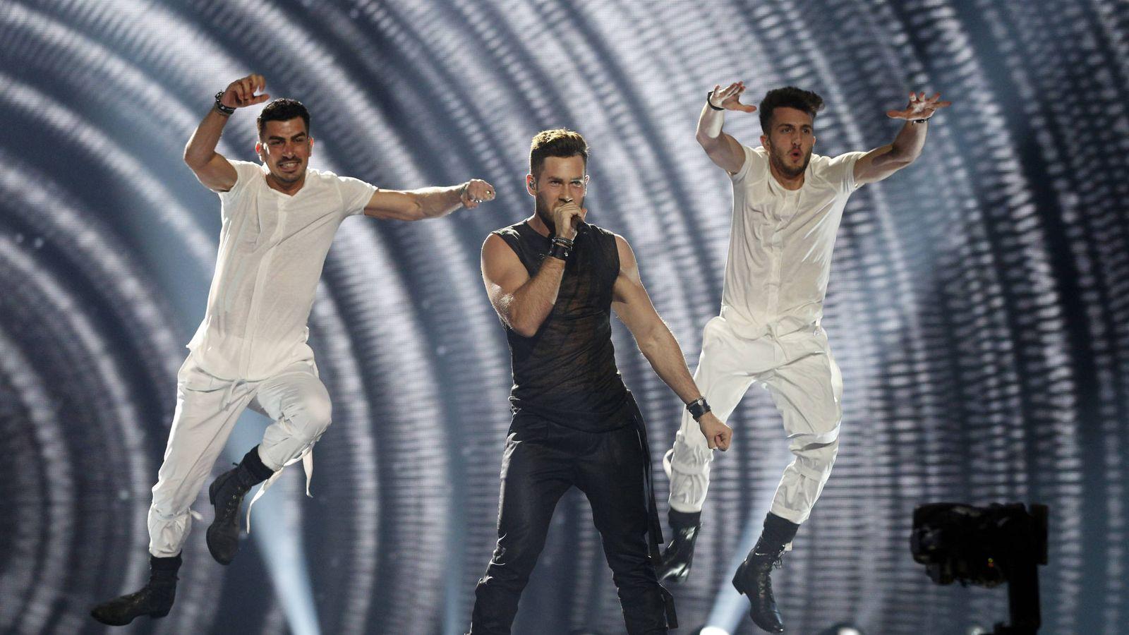 Foto: Actuación de IMRI, representante de Israel en Eurovisión. (GTRES)