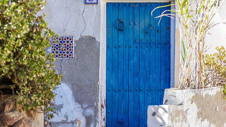 Detalle de una casa de las que hay en este pueblo almeriense. (Foto: Turismo Mojácar)