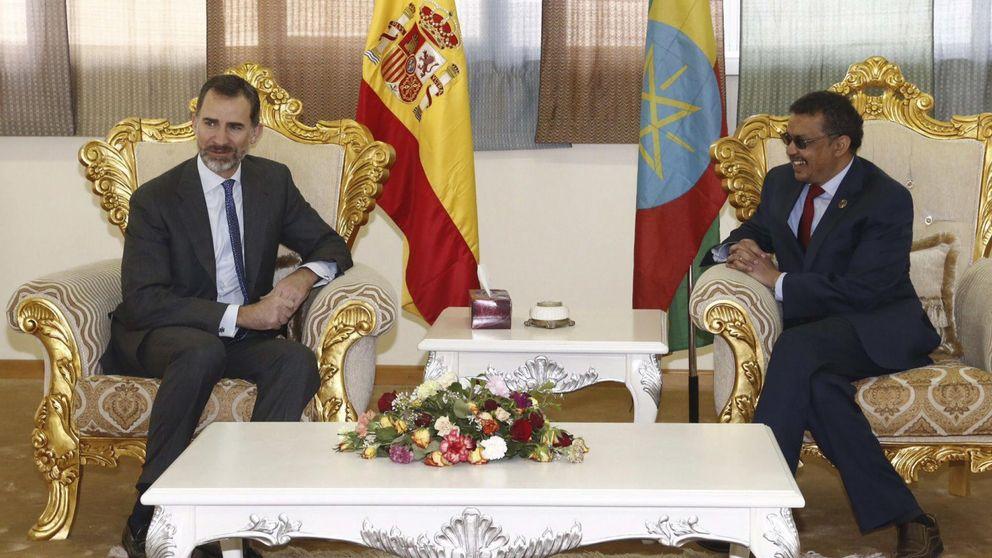 El 'Rey viajero': Felipe VI pasa su primer cumpleaños en Etiopía