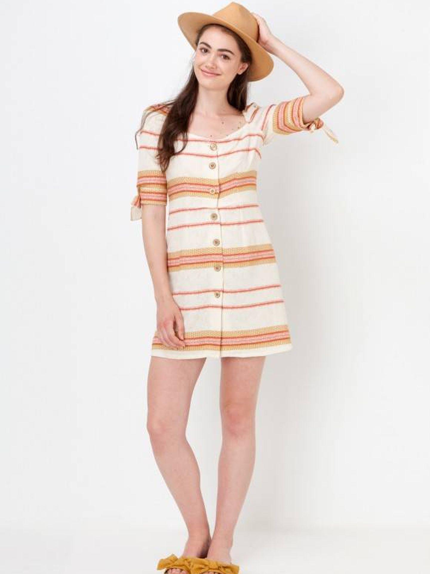 El vestido de Maggie Sweet que Cristina Pedroche ha copiado a Paula Echevarría.  (Cortesía)