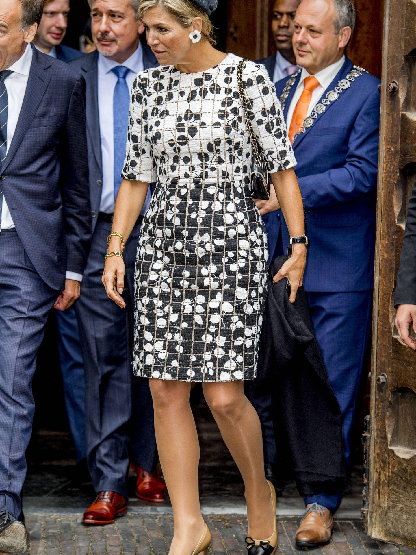 Queen Maxima opens the new Asian Library of Leiden University on Thursday, September 14, 2017.