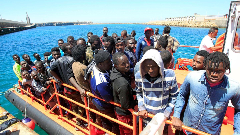 Más de 300 personas han llegado este sábado a las costas españolas. (EFE)