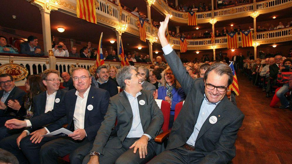 Foto: Artur Mas en un mitin. (EFE)
