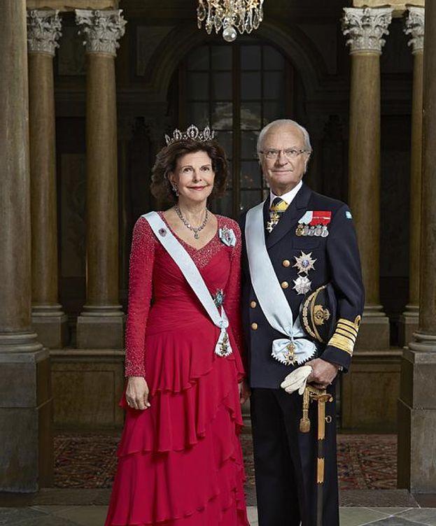 Foto: Los reyes de Suecia en su última imagen oficial