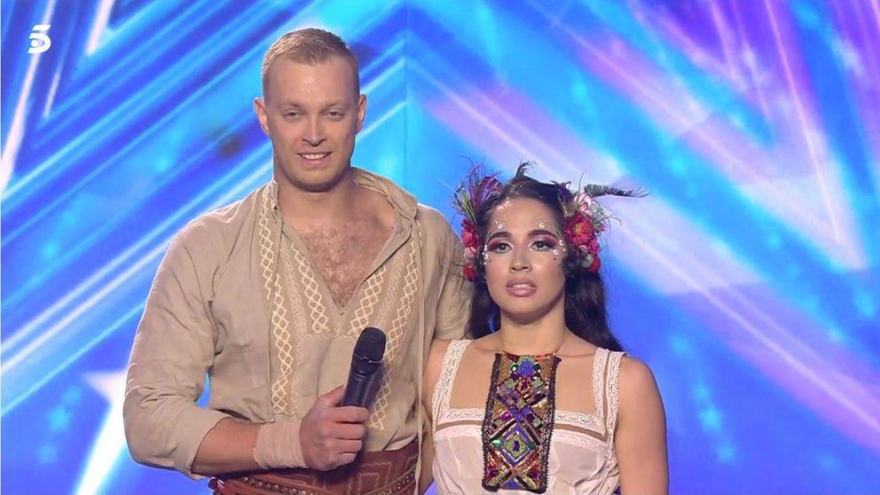 Los espectadores tampoco respaldaron a  Duo Flame en la final de 'Got Talent'