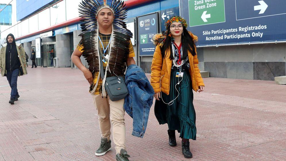 Foto: Asistentes a la cumbre del clima. (EFE)