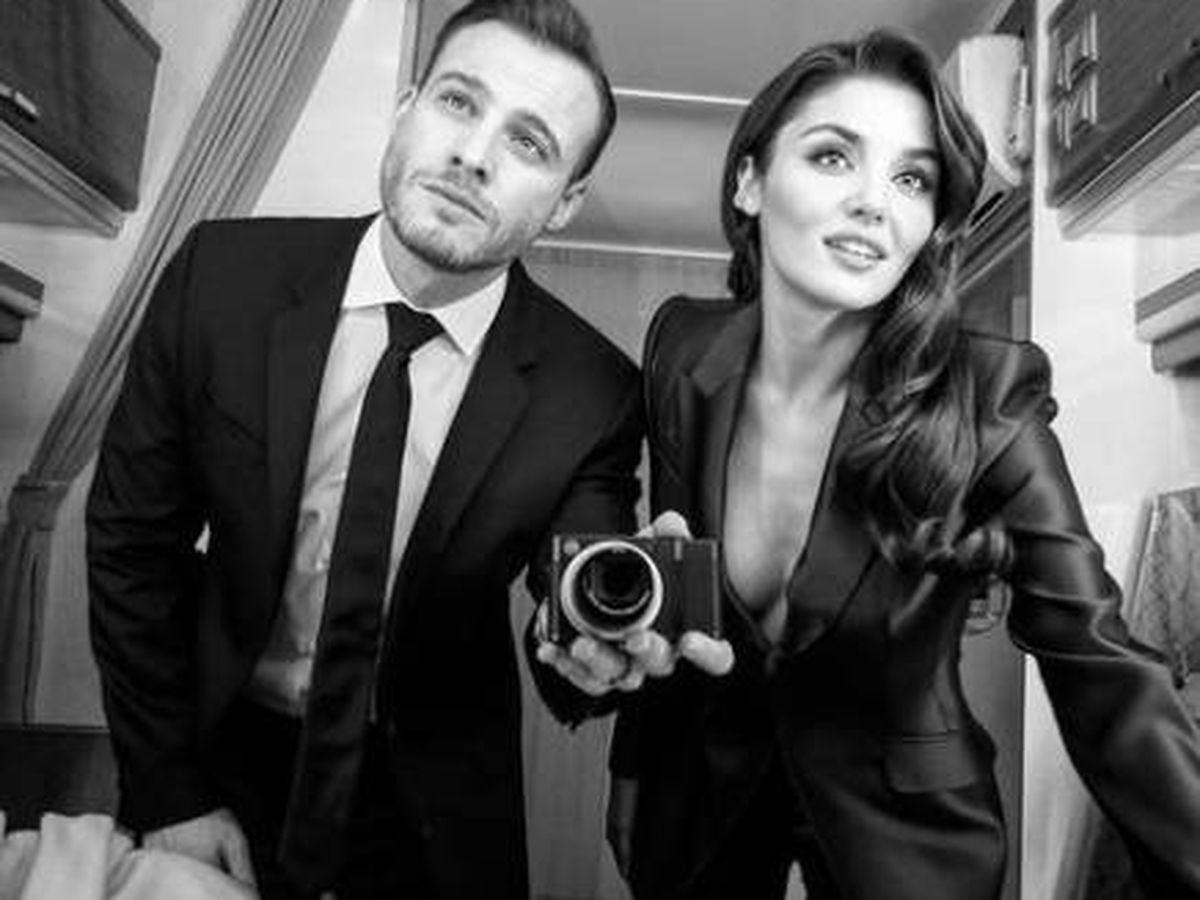 Foto: Kerem Bürsin y Hande Erçel, los protagonistas de 'Love is in the air'. (Instagram @thebursin)
