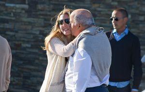 Amancio Ortega abandona la discreción por sus nietos