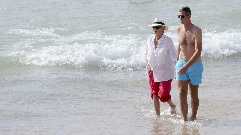 Iñaki Urdangarin y la infanta Cristina ya disfrutan del verano en Bidart sin lujos